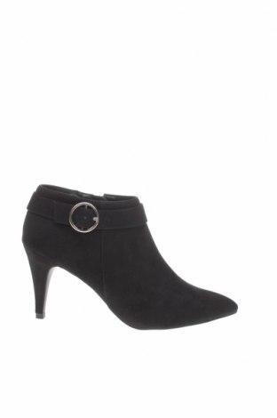 Дамски обувки New Look, Размер 39, Цвят Черен, Текстил, Цена 24,84лв.