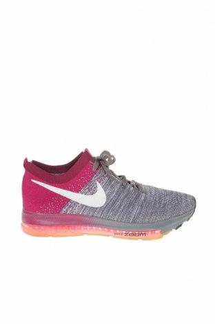 Дамски обувки Nike, Размер 36, Цвят Сив, Текстил, Цена 57,75лв.