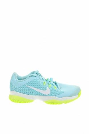 Дамски обувки Nike, Размер 38, Цвят Син, Текстил, еко кожа, Цена 96,75лв.