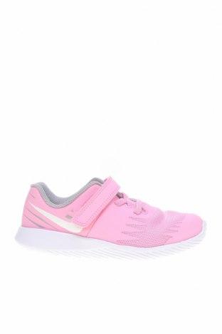 Детски обувки Nike, Размер 27, Цвят Розов, Еко кожа, Цена 28,50лв.
