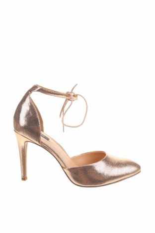Дамски обувки ONLY, Размер 41, Цвят Златист, Еко кожа, Цена 51,75лв.