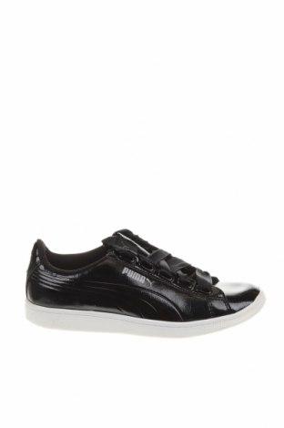 Дамски обувки PUMA, Размер 37, Цвят Черен, Еко кожа, Цена 51,00лв.