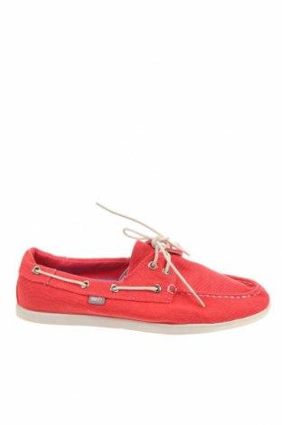 Дамски обувки Rivers, Размер 39, Цвят Червен, Текстил, Цена 23,94лв.