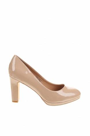 Дамски обувки Simply Be, Размер 41, Цвят Бежов, Еко кожа, Цена 44,25лв.