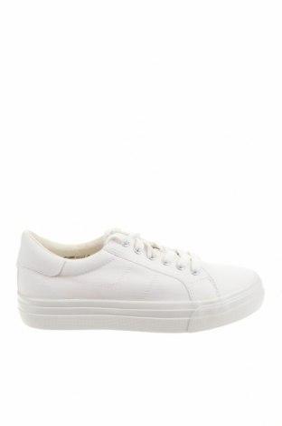 Дамски обувки Tamaris, Размер 41, Цвят Бял, Текстил, Цена 41,59лв.