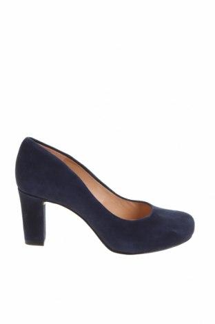 Дамски обувки Unisa, Размер 36, Цвят Син, Естествен велур, Цена 81,75лв.