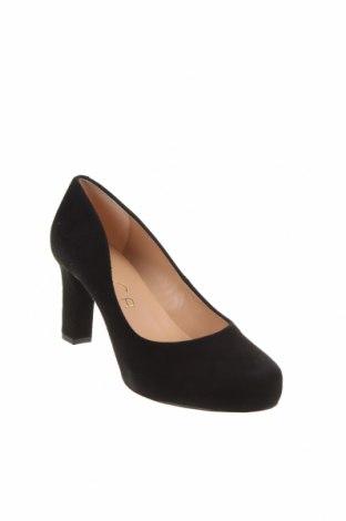 Дамски обувки Unisa, Размер 37, Цвят Черен, Естествен велур, Цена 89,25лв.