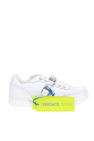 Дамски обувки Versace Jeans, Размер 35, Цвят Бял, Естествена кожа, Цена 276,75лв.