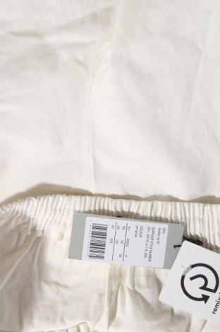 Дамски панталон, Размер XXL, Цвят Бял, 55% лен, 45% памук, Цена 20,38лв.