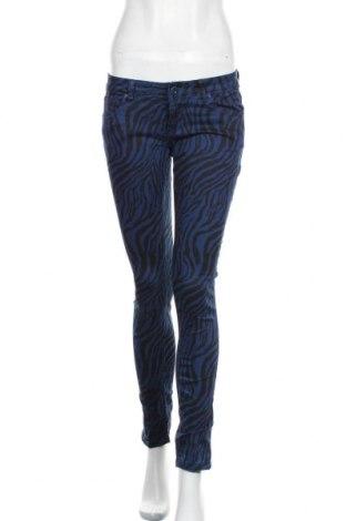 Дамски панталон, Размер S, Цвят Син, 98% памук, 2% еластан, Цена 11,76лв.