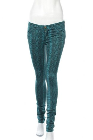 Дамски панталон, Размер S, Цвят Зелен, 95% памук, 3% полиуретан, 2% еластан, Цена 6,30лв.