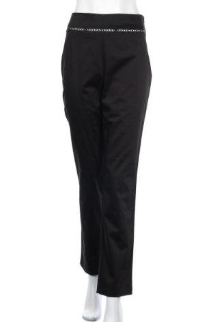 Дамски панталон, Размер M, Цвят Черен, 96% памук, 4% еластан, Цена 11,16лв.