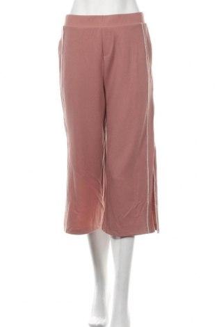 Дамски панталон, Размер M, Цвят Розов, 94% полиестер, 6% еластан, Цена 8,44лв.