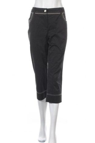 Дамски панталон Alba Moda, Размер L, Цвят Черен, 50% памук, 45% полиестер, 5% еластан, Цена 19,95лв.