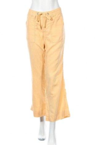 Γυναικείο παντελόνι Banana Republic, Μέγεθος M, Χρώμα Πορτοκαλί, Λινό, Τιμή 17,73€