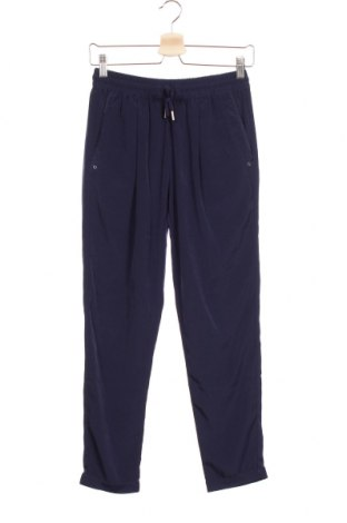 Дамски панталон Bershka, Размер S, Цвят Син, Полиестер, Цена 10,08лв.
