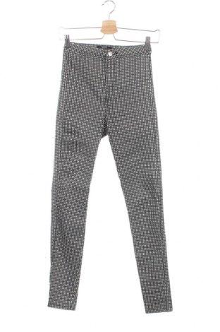 Дамски панталон Bershka, Размер XS, Цвят Сив, Цена 16,48лв.