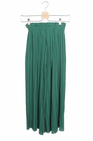 Pantaloni de femei Bershka, Mărime XS, Culoare Verde, Preț 78,95 Lei