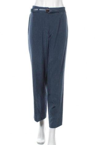 Γυναικείο παντελόνι Bianca, Μέγεθος L, Χρώμα Μπλέ, 49% πολυαμίδη, 41% βισκόζη, 10% λινό, Τιμή 6,76€