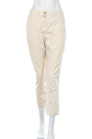 Дамски панталон Biba, Размер M, Цвят Екрю, Памук, Цена 8,30лв.