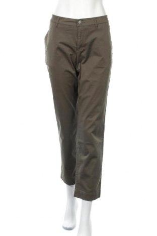 Дамски панталон Bogner, Размер L, Цвят Зелен, 98% памук, 2% еластан, Цена 85,79лв.