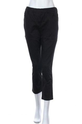 Дамски панталон Bpc Bonprix Collection, Размер M, Цвят Черен, 97% памук, 3% еластан, Цена 5,90лв.