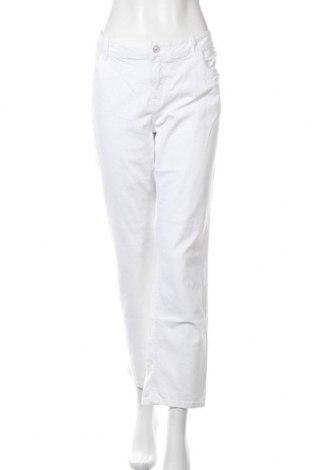Дамски панталон C&A, Размер XXL, Цвят Бял, Цена 22,68лв.