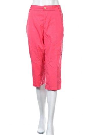 Γυναικείο παντελόνι Charles Vogele, Μέγεθος L, Χρώμα Ρόζ , 98% βαμβάκι, 2% ελαστάνη, Τιμή 5,68€
