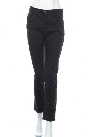 Γυναικείο παντελόνι Charles Vogele, Μέγεθος M, Χρώμα Μαύρο, 60% βαμβάκι, 37% πολυεστέρας, 3% ελαστάνη, Τιμή 12,96€