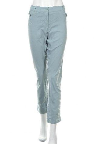 Γυναικείο παντελόνι Charles Vogele, Μέγεθος XL, Χρώμα Μπλέ, 70% βισκόζη, 26% πολυαμίδη, 4% ελαστάνη, Τιμή 14,19€