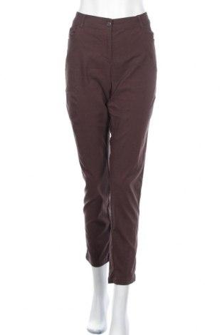 Γυναικείο παντελόνι Charles Vogele, Μέγεθος XL, Χρώμα Καφέ, 70% βισκόζη, 26% πολυαμίδη, 4% ελαστάνη, Τιμή 17,54€