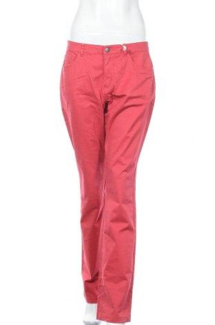 Γυναικείο παντελόνι Charles Vogele, Μέγεθος M, Χρώμα Κόκκινο, 98% βαμβάκι, 2% ελαστάνη, Τιμή 25,33€