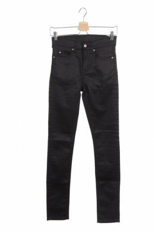Дамски панталон Cheap Monday, Размер XS, Цвят Черен, 75% памук, 23% полиестер, 2% еластан, Цена 51,75лв.