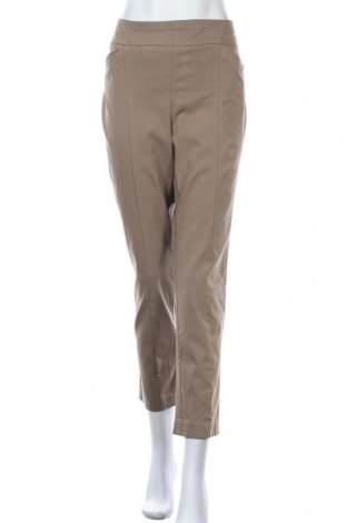 Дамски панталон Chico's, Размер L, Цвят Бежов, 79% вискоза, 18% полиамид, 3% еластан, Цена 24,57лв.