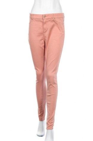 Дамски панталон Clockhouse, Размер M, Цвят Розов, 89% памук, 8% полиестер, 3% еластан, Цена 10,42лв.