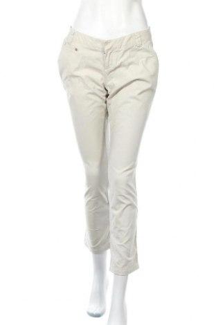 Дамски панталон Coldwater Creek, Размер S, Цвят Екрю, 98% памук, 2% еластан, Цена 6,40лв.