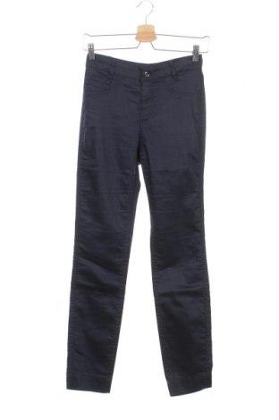Дамски панталон Comma,, Размер XS, Цвят Син, 64% памук, 32% полиестер, 4% еластан, Цена 33,60лв.