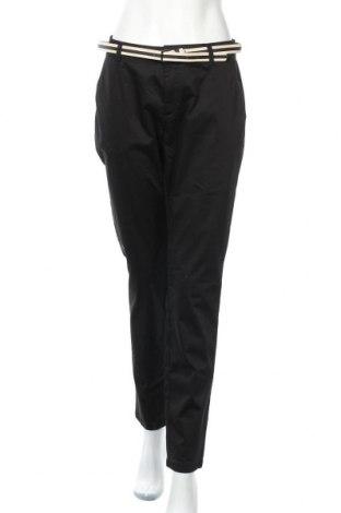 Дамски панталон Comma,, Размер L, Цвят Черен, 98% памук, 2% еластан, Цена 49,14лв.