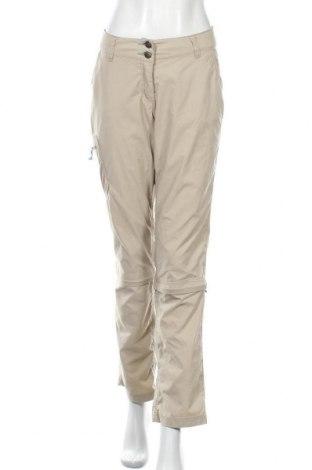 Γυναικείο παντελόνι Crane, Μέγεθος M, Χρώμα  Μπέζ, 95% πολυεστέρας, 5% ελαστάνη, Τιμή 17,54€