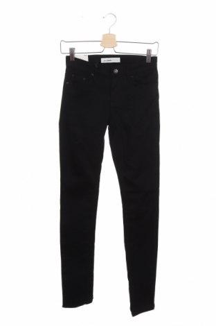 Дамски панталон Cubus, Размер XS, Цвят Черен, 98% памук, 2% еластан, Цена 12,98лв.