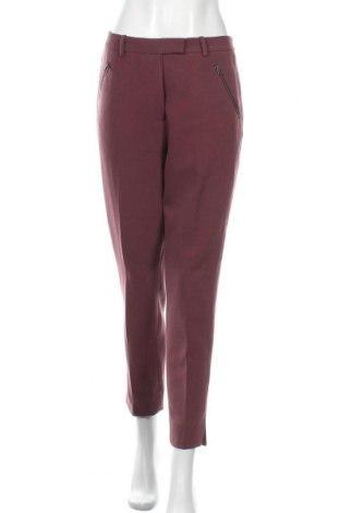 Дамски панталон Day Birger Et Mikkelsen, Размер M, Цвят Лилав, 63% полиестер, 33% вискоза, 4% еластан, Цена 41,90лв.