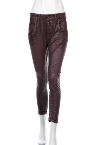 Γυναικείο παντελόνι Diesel Black Gold, Μέγεθος S, Χρώμα Κόκκινο, 55% βαμβάκι, 42% lyocell, 3% ελαστάνη, Τιμή 70,18€