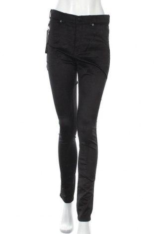 Γυναικείο παντελόνι Dr. Denim, Μέγεθος XL, Χρώμα Μαύρο, 58% βαμβάκι, 40% βισκόζη, 2% ελαστάνη, Τιμή 24,90€