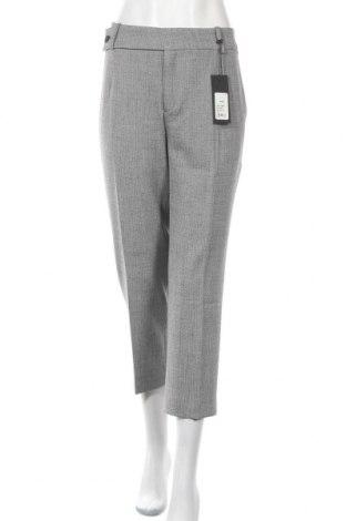 Дамски панталон Drykorn for beautiful people, Размер XL, Цвят Сив, 62% полиестер, 26% вискоза, 9% вълна, 3% еластан, Цена 149,25лв.