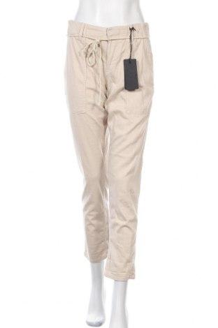Дамски панталон Drykorn for beautiful people, Размер M, Цвят Бежов, 97% памук, 3% еластан, Цена 149,25лв.