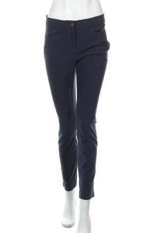 Дамски панталон Essentials by Tchibo, Размер M, Цвят Син, 70% вискоза, 26% полиамид, 4% еластан, Цена 25,20лв.
