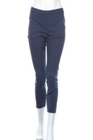 Дамски панталон Essentials by Tchibo, Размер L, Цвят Син, 77% вискоза, 20% полиамид, 3% еластан, Цена 23,52лв.