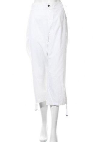 Dámské kalhoty  Evans, Velikost XXL, Barva Bílá, Bavlna, Cena  566,00Kč