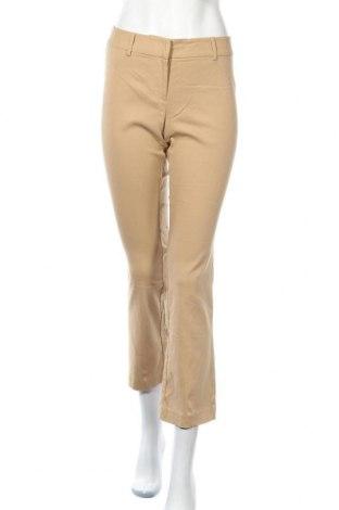 Дамски панталон Express, Размер S, Цвят Бежов, 77% вискоза, 20% полиамид, 3% еластан, Цена 3,00лв.