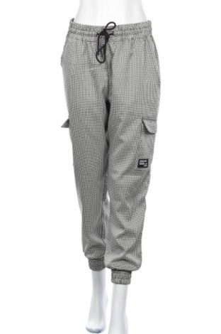 Дамски панталон Fb Sister, Размер XL, Цвят Бял, 98% полиестер, 2% еластан, Цена 26,93лв.